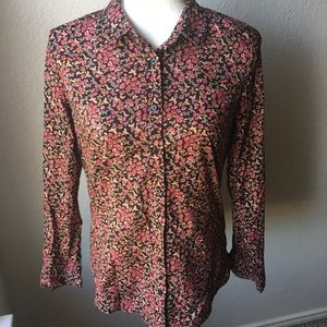 Lauren Conrad size S long sleeve buttoned up